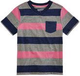 Arizona Short-Sleeve Striped Tee - Preschool Boys 4-7