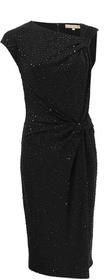 Michael Kors Asymmetrical Beaded Dress