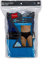 Hanes Men's X-Temp Comfort Cool FreshIQ Mid Rise Brief 4-Pack