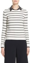 Nordstrom Women's Stripe Cashmere Sweater