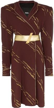 Montana hooded midi-dress