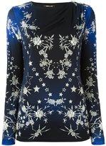 Roberto Cavalli stars print blouse