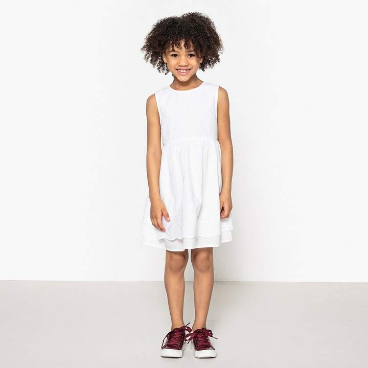 dcedb369327 Girls White Broderie Anglaise Dress - ShopStyle UK