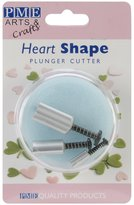 P.M.E. Plunger Cutters 3/Pkg-Heart Shape