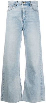BA&SH Alix wide-leg jeans