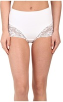 Jockey Slimmers Front Panel Brief w/ Lace