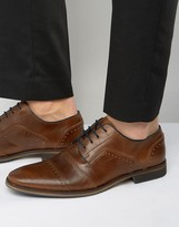 Dune Boycy Leather Derby Brogue Shoes