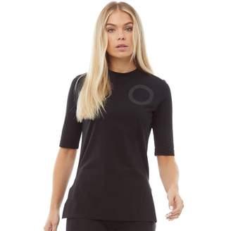 Y-3 Y 3 Womens Jersey Collar T-Shirt Black
