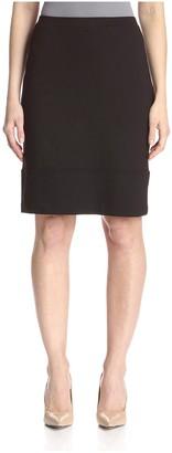 Society New York Women's Seamed Hem Skirt