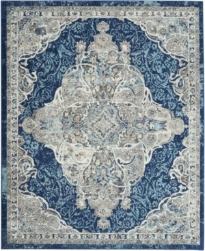 "Long Street Looms Antique ANT02 Ivory 7'10"" x 9'10"" Area Rug"