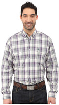 Cinch L/S Double Weave Plaid