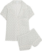 Eberjey Fossil Rock printed modal-blend pajama set