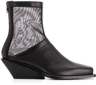 Ann Demeulemeester 70mm Ankle Boots