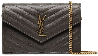 Saint Laurent Monogramme quilted leather hanging wallet