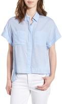 DL1961 Women's Bridgeport High/low Shirt