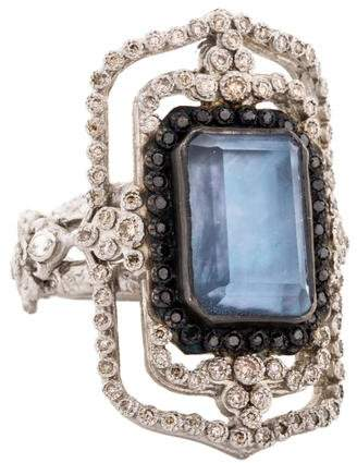 Armenta Diamond & Multistone New World Cocktail Ring w/ Tags