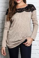 Umgee USA Black Lace Sweater