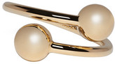 J.W.Anderson Gold Double Ball Ring