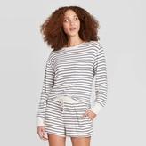 Stars Above Women's Striped Perfectly Cozy Lounge Sweatshirt - Stars AboveTM