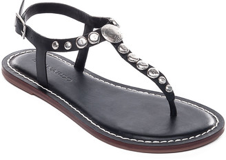 Bernardo Mojo2 Flat Studded Leather Sandals