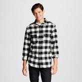 Men's Buffalo Check Flannel Button Down White - Mossimo Supply Co.