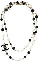 Chanel Pearl & Bead Necklace