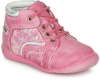 GBB IANIS girls's Shoes (High-top Trainers) in Pink