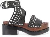 3.1 Phillip Lim Nashville platform sandals - women - Leather - 38