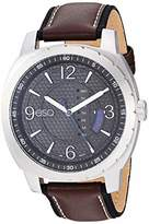 ESQ Men's Stainless Steel Watch w/ Leather Strap FE/0110