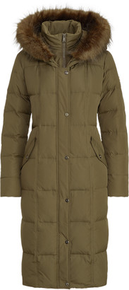 Ralph Lauren Quilted Down Maxi Coat