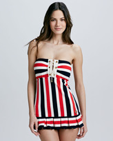 Juicy Couture Port Striped Swimdress