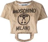 Moschino bag handle T-shirt - women - Cotton - XS