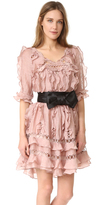 Zimmermann Winsome Ruffle Sphere Dress