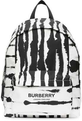 Burberry Watercolour-print backpack