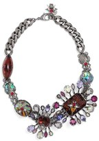 Alexander McQueen Women's 'Flower Stone' Choker Necklace