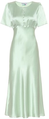 BERNADETTE Florence silk-satin dress