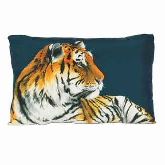 Katie & The Wolf Tiger Cushion - Large