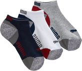 Puma Mesh Top Boys' Low Cut Socks (3 Pack)