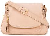 Tom Ford Medium Double Strap Jennifer crossbody bag - women - Bos Taurus - One Size