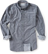 Timberland Timberlands Branch River Double Layer Solid Long-Sleeve Woven Shirt