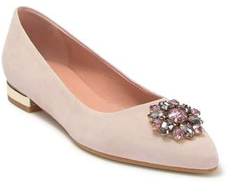 Pollini FOOTWEAR Embellished Ballerina Flat