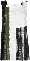 Aviu sequins embellished top - women - Polyester/Polyamide - 38