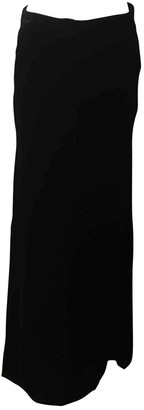 Emilio Pucci Black Velvet Skirt for Women
