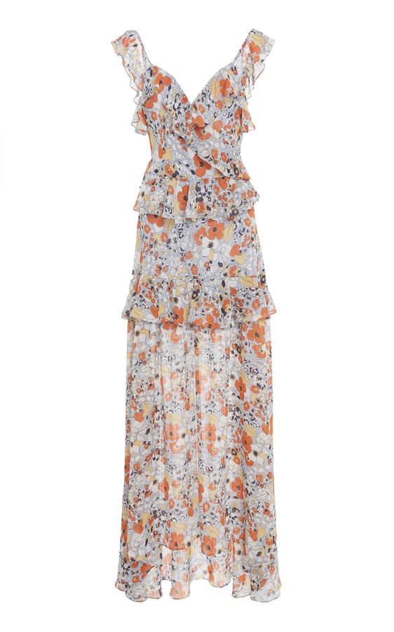 Alexis Jewell Ruffled Dress