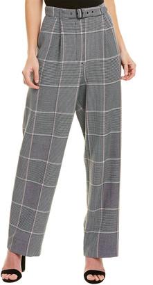 BCBGMAXAZRIA High-Waist Trouser