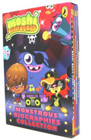 BMS 4 Piece Moshi Monsters Monsterous Biographies Collection Book Set with Slipcase