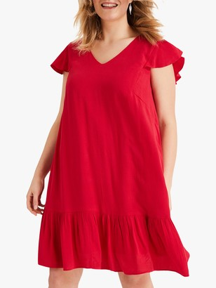Studio 8 Malin Swing Dress, Red