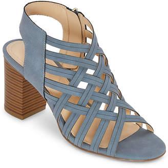 Liz Claiborne Womens Teagan Heeled Sandals