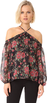 WAYF Liberty Cold Shoulder Top