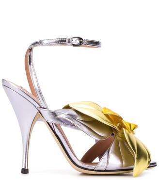 Marco De Vincenzo Flower embellished sandals